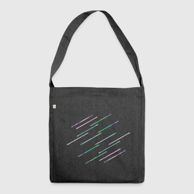 Stripes - Schultertasche aus Recycling-Material