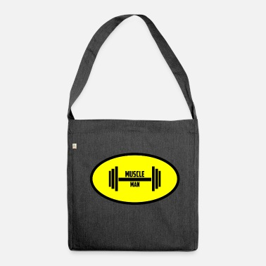 Muscle Muscle Man - Shoulder Bag recycled