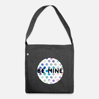 Mining Be mine - Shoulder Bag made from recycled material