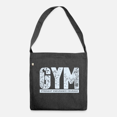 Gym GYM - Shoulder Bag recycled