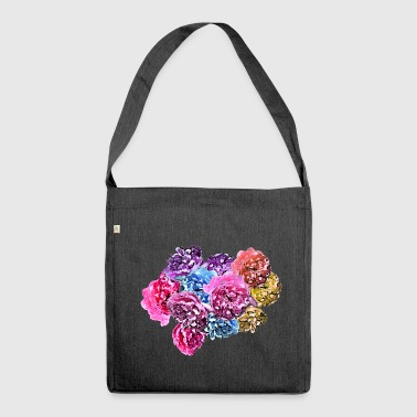 Rose Roses & Roses - Shoulder Bag made from recycled material