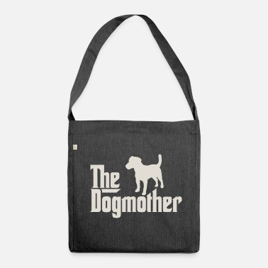 Jack Russel The Dogmother - Parson Jack Russell Terrier - Shoulder Bag made from recycled material