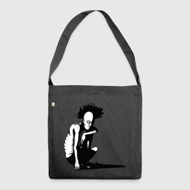 Punk punk - Shoulder Bag made from recycled material
