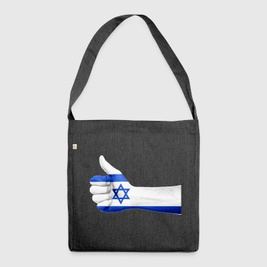 ISRAEL JEWISH JUDENTA DAVIDSTERN GIFT - Shoulder Bag made from recycled material