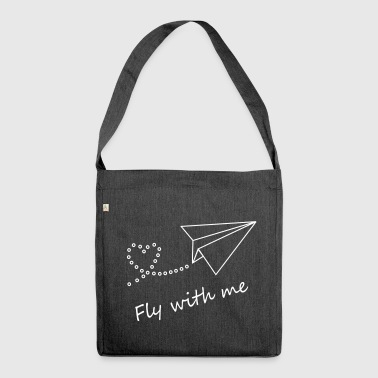 Fly with me - Shoulder Bag made from recycled material
