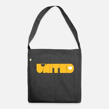 United UNITED - Shoulder Bag made from recycled material