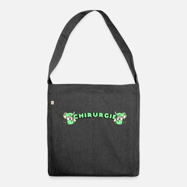 Chirurgie Chirurgie - Schultertasche aus Recycling-Material