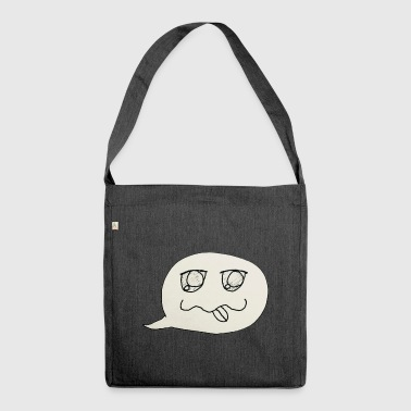 Silly Ghostie - Shoulder Bag made from recycled material