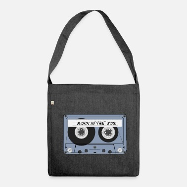 80s born in the '80s - Shoulder Bag made from recycled material