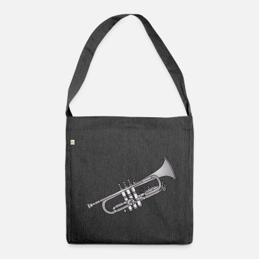 Bach Trumpet brass instrument c - Shoulder Bag made from recycled material