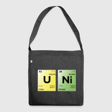 uni elements - Shoulder Bag made from recycled material