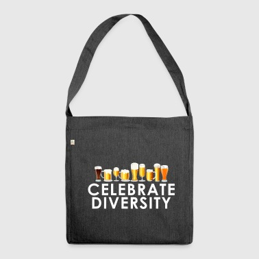 Celebrate Diversity - Shoulder Bag made from recycled material