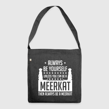 Meerkat - Meerkat - Shoulder Bag made from recycled material
