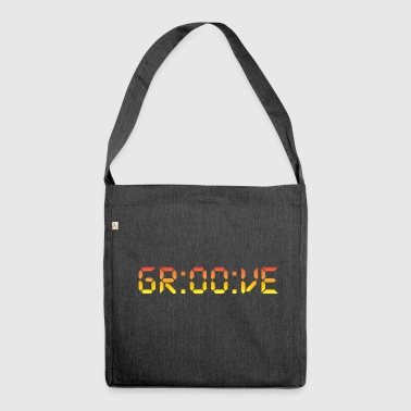 Digital Groove - Schultertasche aus Recycling-Material