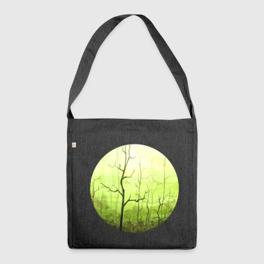 Wald Wald - Schultertasche aus Recycling-Material