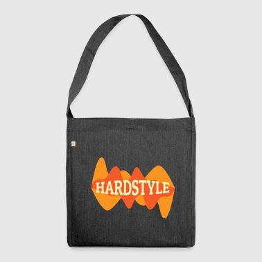 Hardstyle Equalizer - Schultertasche aus Recycling-Material