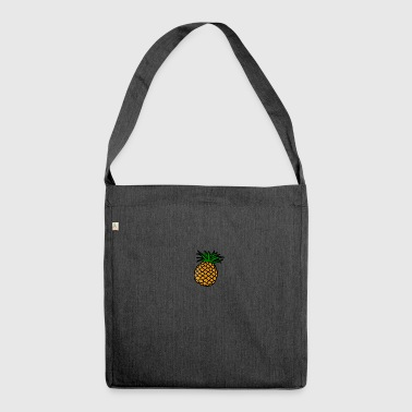Tasty pineapple - Shoulder Bag made from recycled material