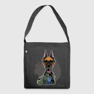 Great Dane - Dogue Allemand - Sac bandoulière 100 % recyclé