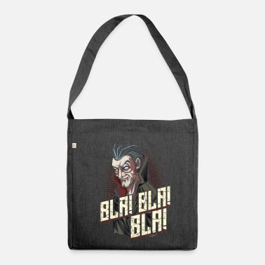 Graf Graf Dracula - Schultertasche aus Recycling-Material