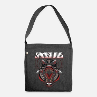 Scifi Cyborg Spinosaurus Scifi - Shoulder Bag made from recycled material