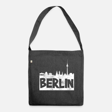 Berlin Berlin Berlin Berlin - Shoulder Bag made from recycled material
