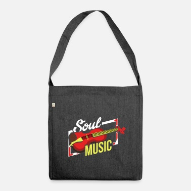 Soul Soul Soul Music Soul Jazz Music Gift - Borsa in materiale riciclato