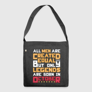 Legends October - Shoulder Bag made from recycled material