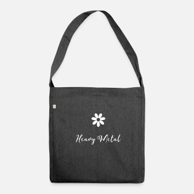 Heavy Metal Heavy Metal - Schultertasche aus Recycling-Material