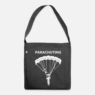 Parachute Parachuting - Shoulder Bag made from recycled material