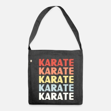 Karate Karate karate karate - Shoulder Bag made from recycled material