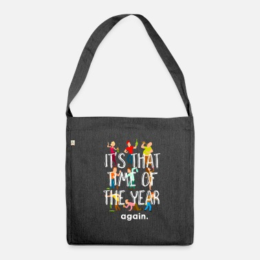 New Year New Year New Year Happy New Year 2019 New Year - Shoulder Bag made from recycled material