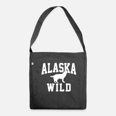 Alaska Alaska Alaska Alaska - Shoulder Bag recycled
