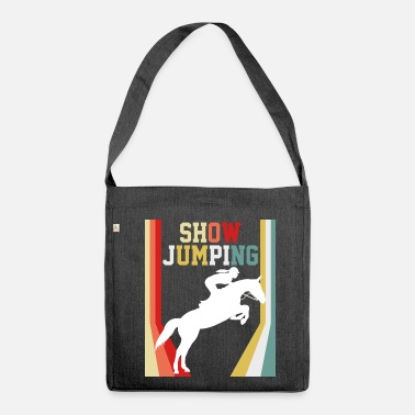 Show Jumping Show jumping rodeo - Shoulder Bag recycled