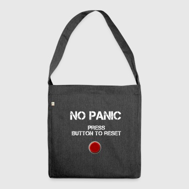 No Panic - Schultertasche aus Recycling-Material