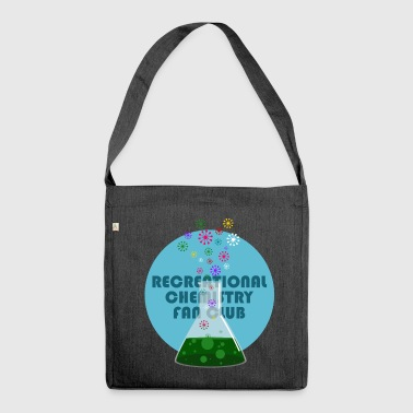 Recreational Chemistry Fan Club (blue) - Shoulder Bag made from recycled material