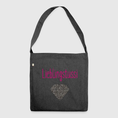 Lieblingstussi - Schultertasche aus Recycling-Material