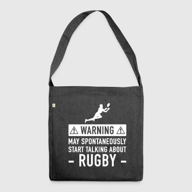 Idea divertente Rugby regalo - Borsa in materiale riciclato