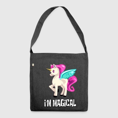 UNICORN Unicorn I at the magical unicorn - Shoulder Bag made from recycled material