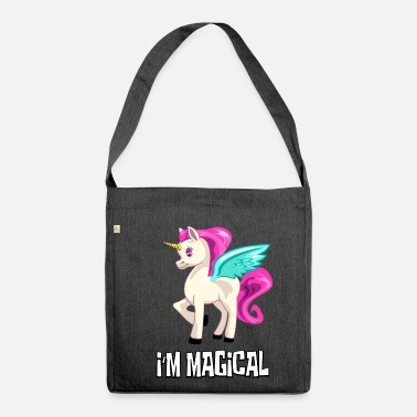 Unicorn UNICORN Unicorn I at the magical unicorn - Shoulder Bag made from recycled material