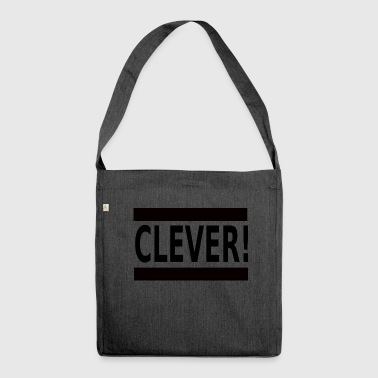 Clever - Schultertasche aus Recycling-Material