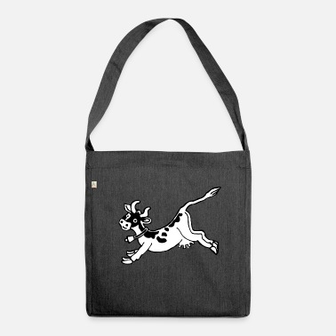 Jumping high jump jumping jump jumping ballerina13 - Shoulder Bag made from recycled material