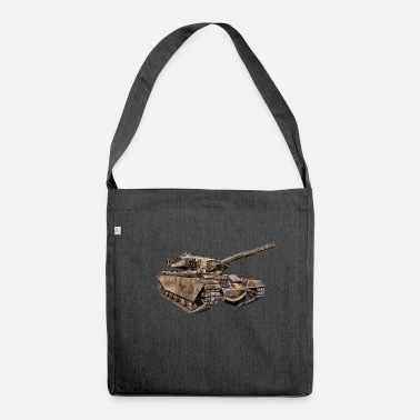 World Of Tanks tank - Shoulder Bag made from recycled material