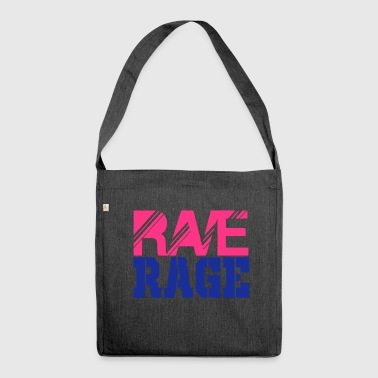 rave rage - Shoulder Bag made from recycled material