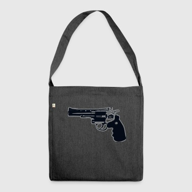 Revolver Gun - Shoulder Bag made from recycled material