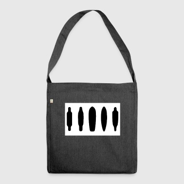 shapes quadrat - Schultertasche aus Recycling-Material