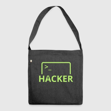 Hacker Internet Informatique pirater informatique - Sac bandoulière 100 % recyclé
