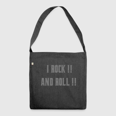 I Rock and Roll - Schoudertas van gerecycled materiaal