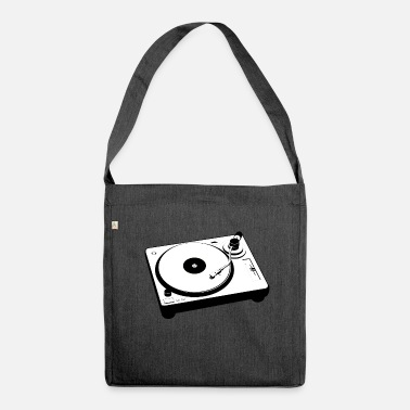 Turntable Turntable - Shoulder Bag made from recycled material