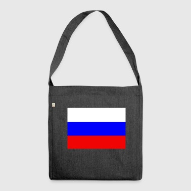 Russian flag - Shoulder Bag made from recycled material