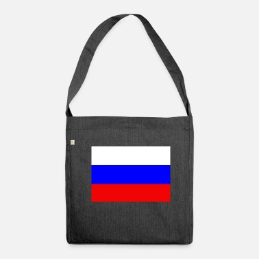 Russian Russian flag - Shoulder Bag made from recycled material